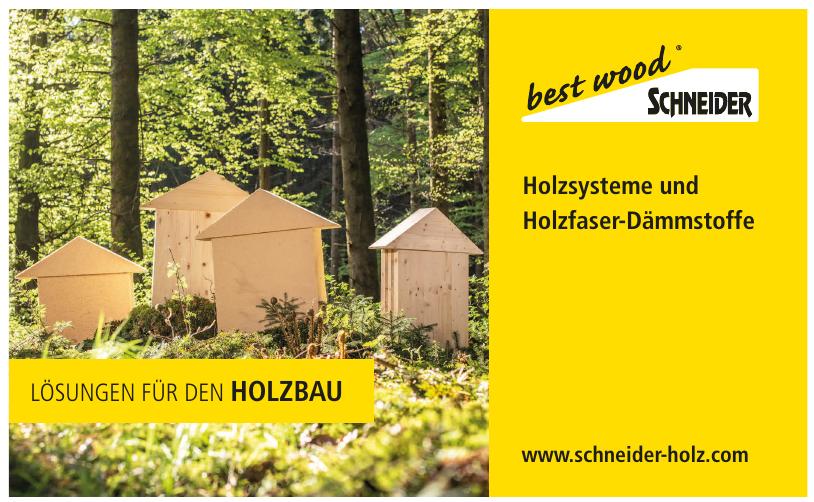 best wood SCHNEIDER GmbH