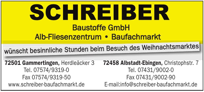 Schreiber Baustoffe GmbH