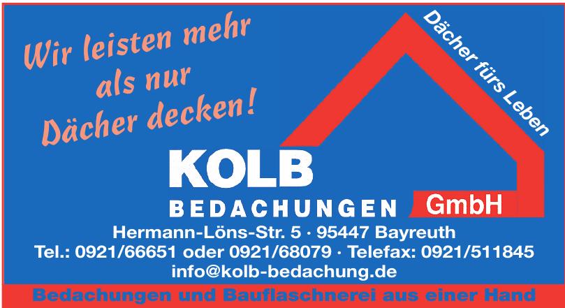 Kolb Bedachungen GmbH