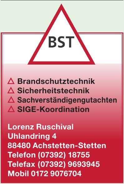 BST Lorenz Ruschival