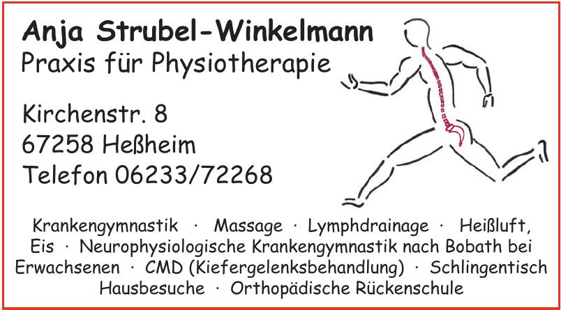 Anja Strubel-Winkelmann Praxis für Physiotherapie