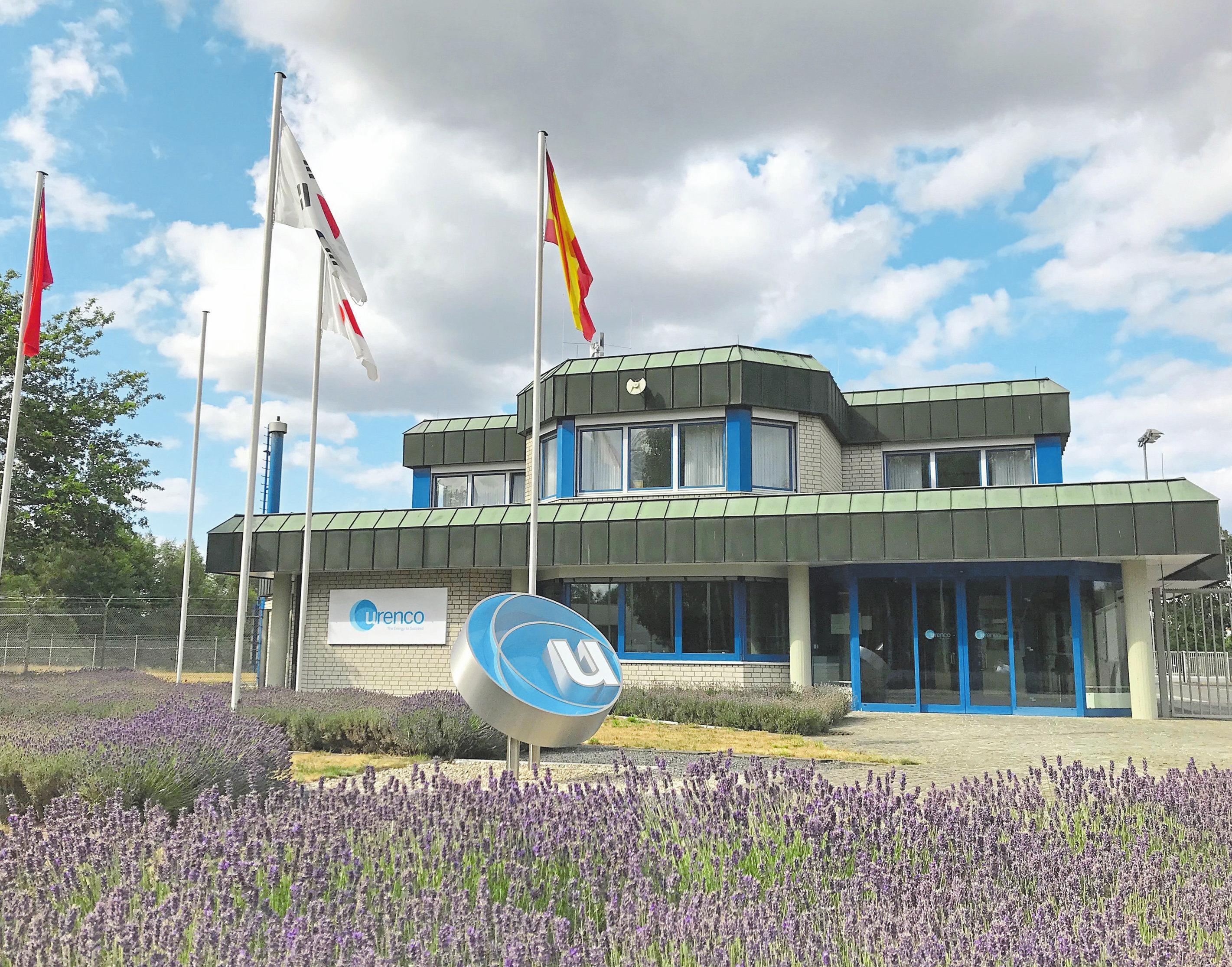 Seit den 80er-Jahren befindet sich die Urenco im Gronauer Gewerbegebiet an der Röntgenstraße 4. Dort kommt die nach Unternehmensangaben weltweit modernste Zentrifugentechnik zum Einsatz.