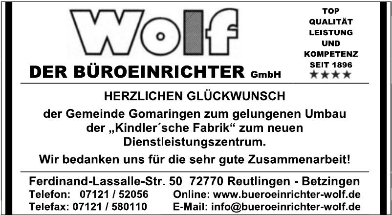 Wolf der Büroeinrichter GmbH