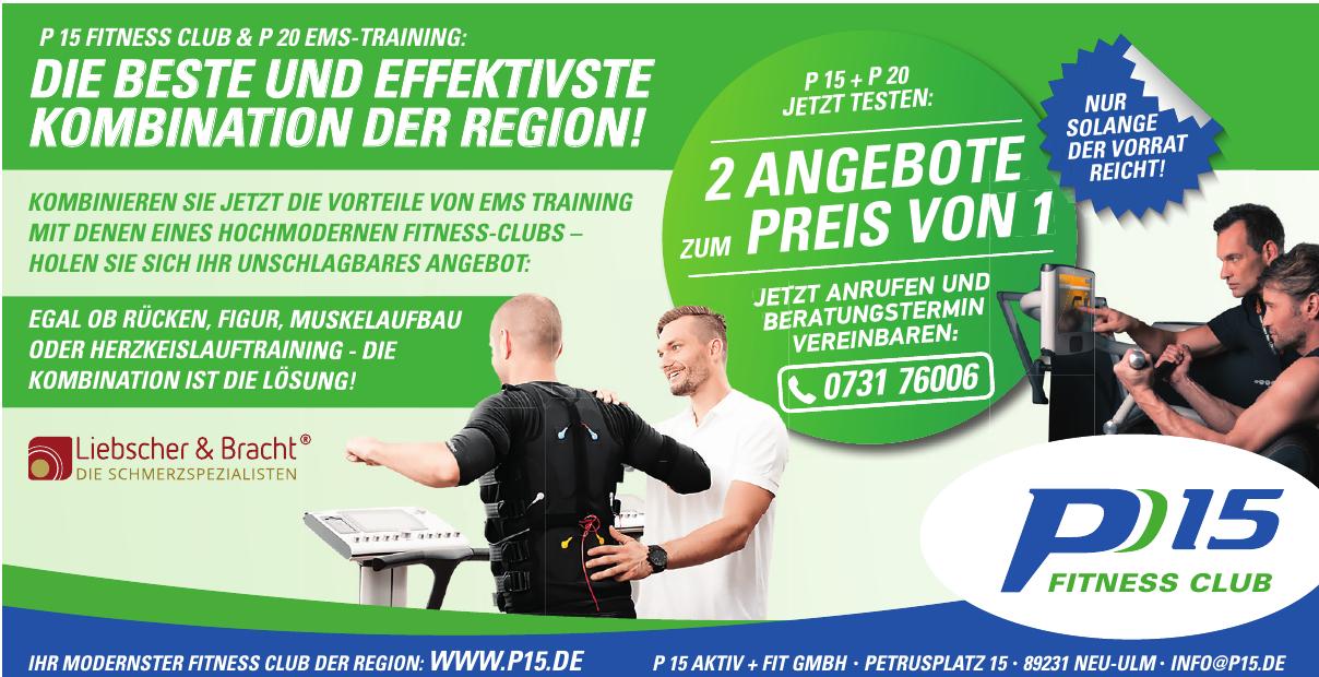 P 15 aktiv+fit GmbH