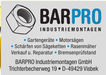 BARPRO Industriemontagen GmbH