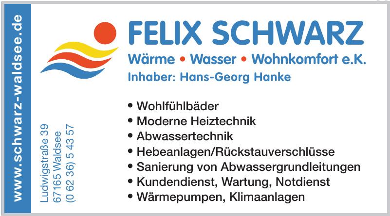 Felix Schwarz Wohnkomfort e. K