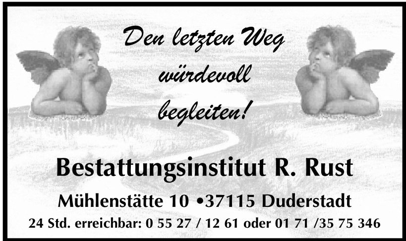 Bestattungsinstitut R. Rust