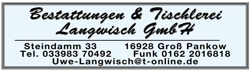 Bestattungen & Tischlerei Langwisch GmbH