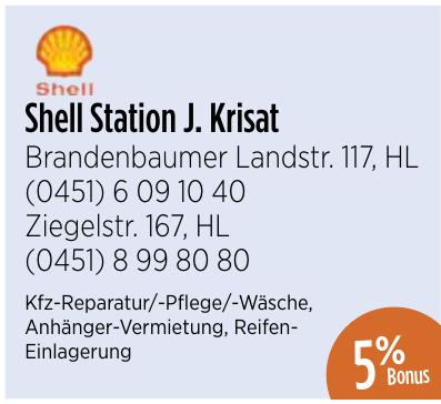 Shell Station J. Krisat