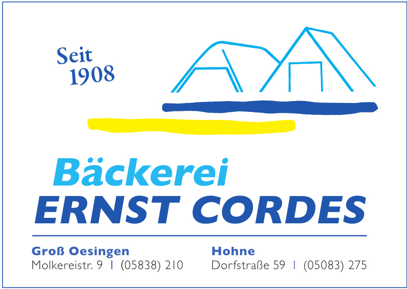 Bäckerei Ernst Cordes