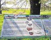 Diese Tafel in Lütkenwisch verweist auf das Leben im Sperrgebiet während der innerdeutschen Grenze an der Elbe. FOTOS: LANDKREIS PRIGNITZ