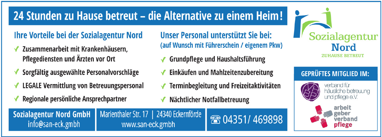 Sozialagentur Nord GmbH