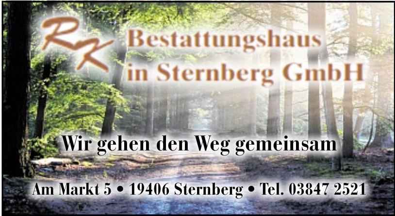 RK Bestattungshaus in Sternberg GmbH