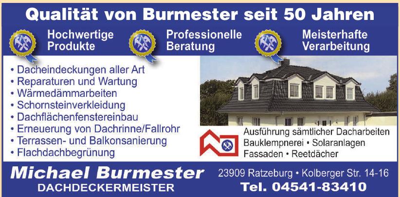 Michael Burmester Dachdeckermeister