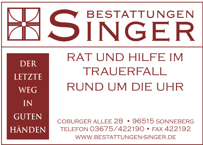 Bestattungen Singer GmbH