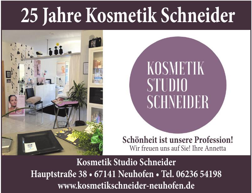 Kosmetik Studio Schneider