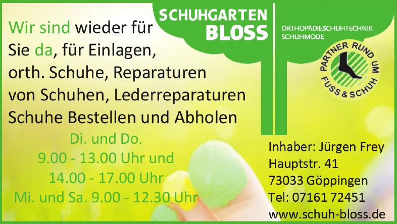 Schuhgarten Bloss