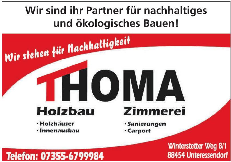 Thoma Holzbau, Zimmerei