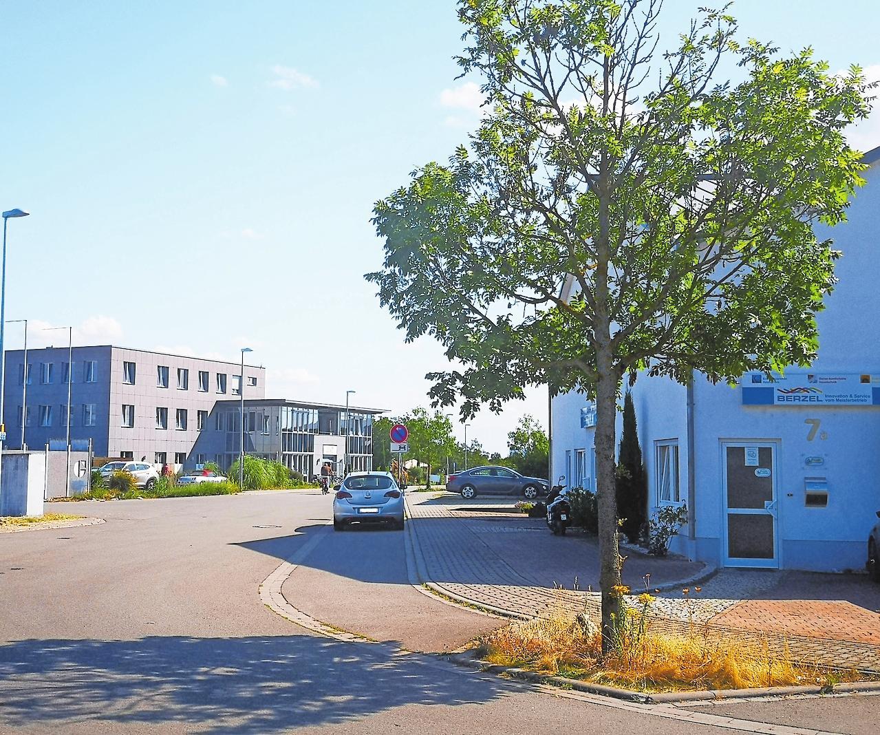 Platz für Betriebe: Am Gewerbering in Dudenhofen sind noch drei Flächen frei. FOTO: XSM