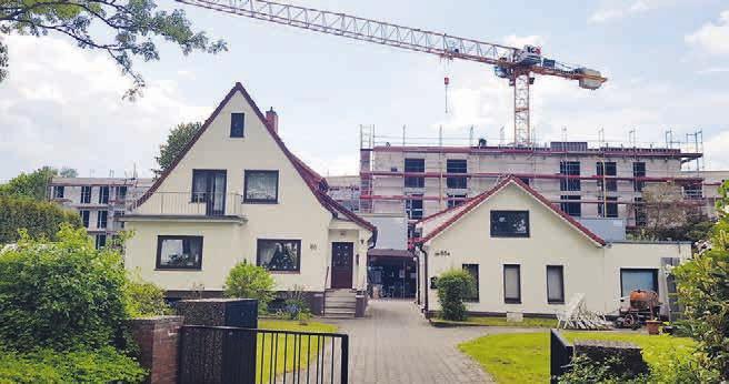 Die SAGA baut in der Lokstedter Höhe 108 Wohnungen