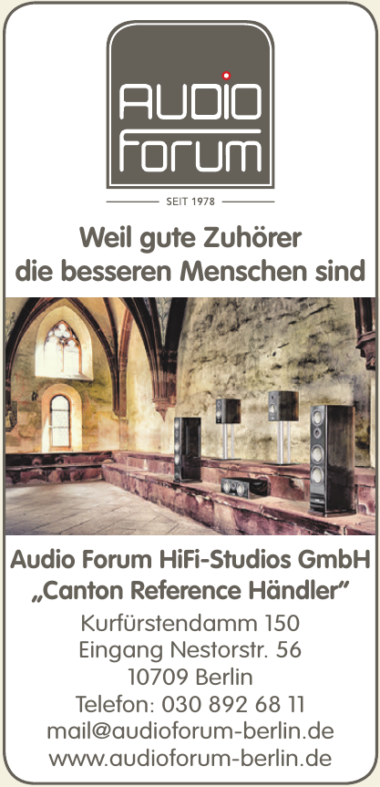 Audio Forum HiFi-Studios GmbH
