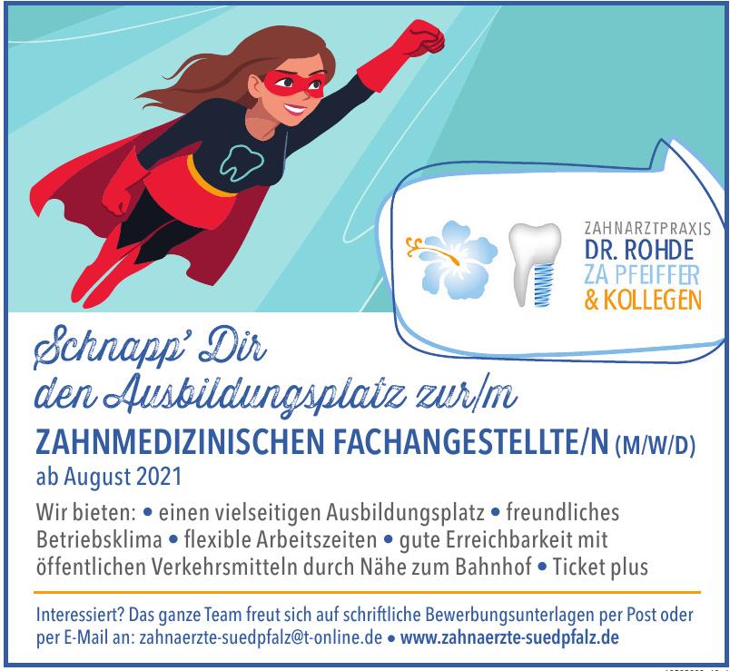 Zahnarztpraxis Dr. Veit Rohde ZA Armin Pfeiffer & Kollegen