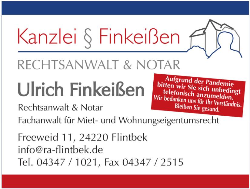 Ulrich Finkeißen Rechtsanwalt