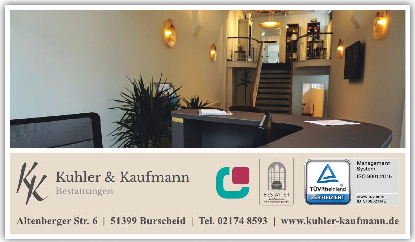 Kuhler und Kaufmann GmbH Bestattungen