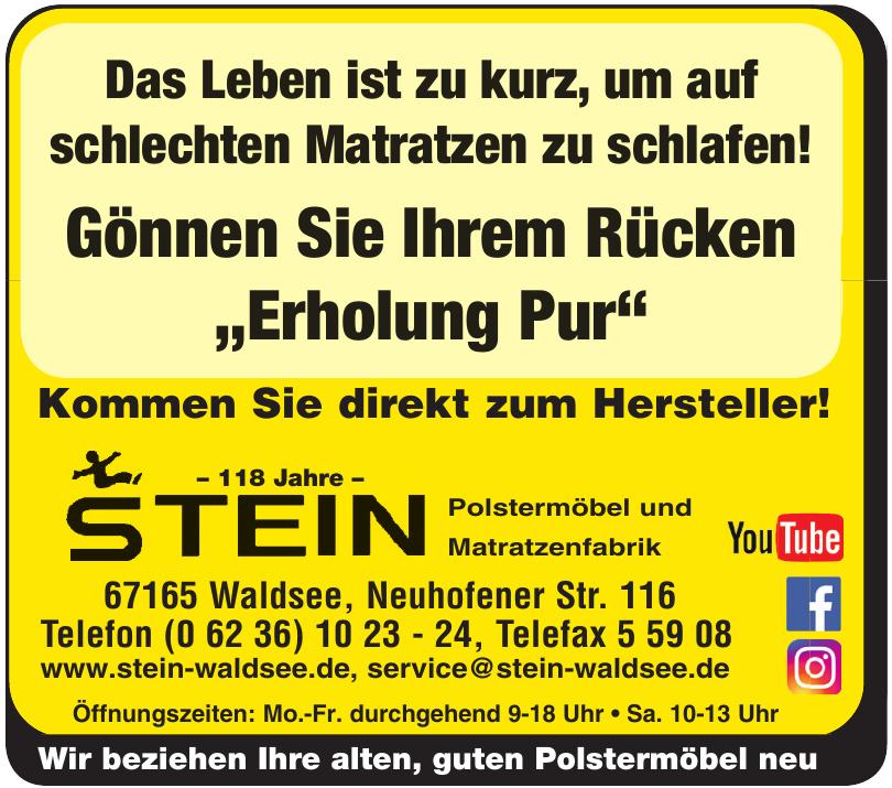 Matratzenfabrik Stein