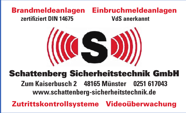 Schattenberg Sicherheitstechnik GmbH