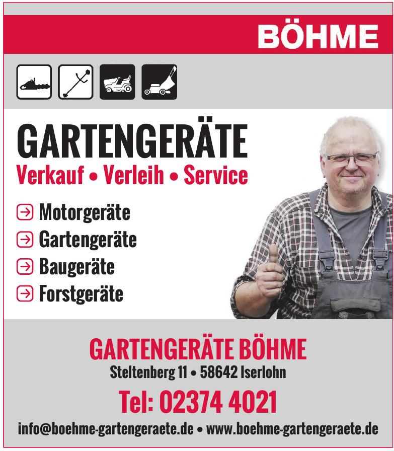 Gartengeräte Böhme