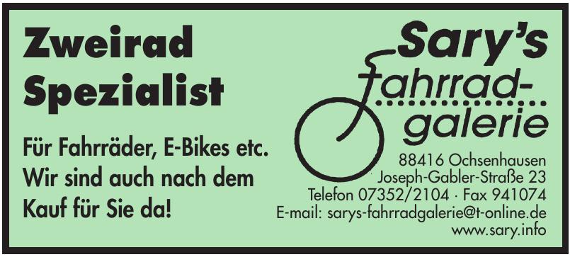 Sary´s Fahrradgalerie