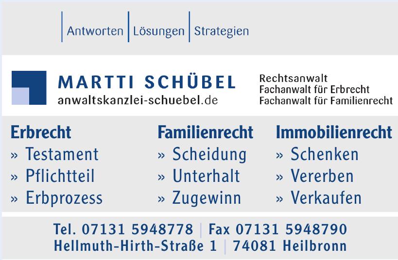 Anwaltskanzlei Martti Schübel