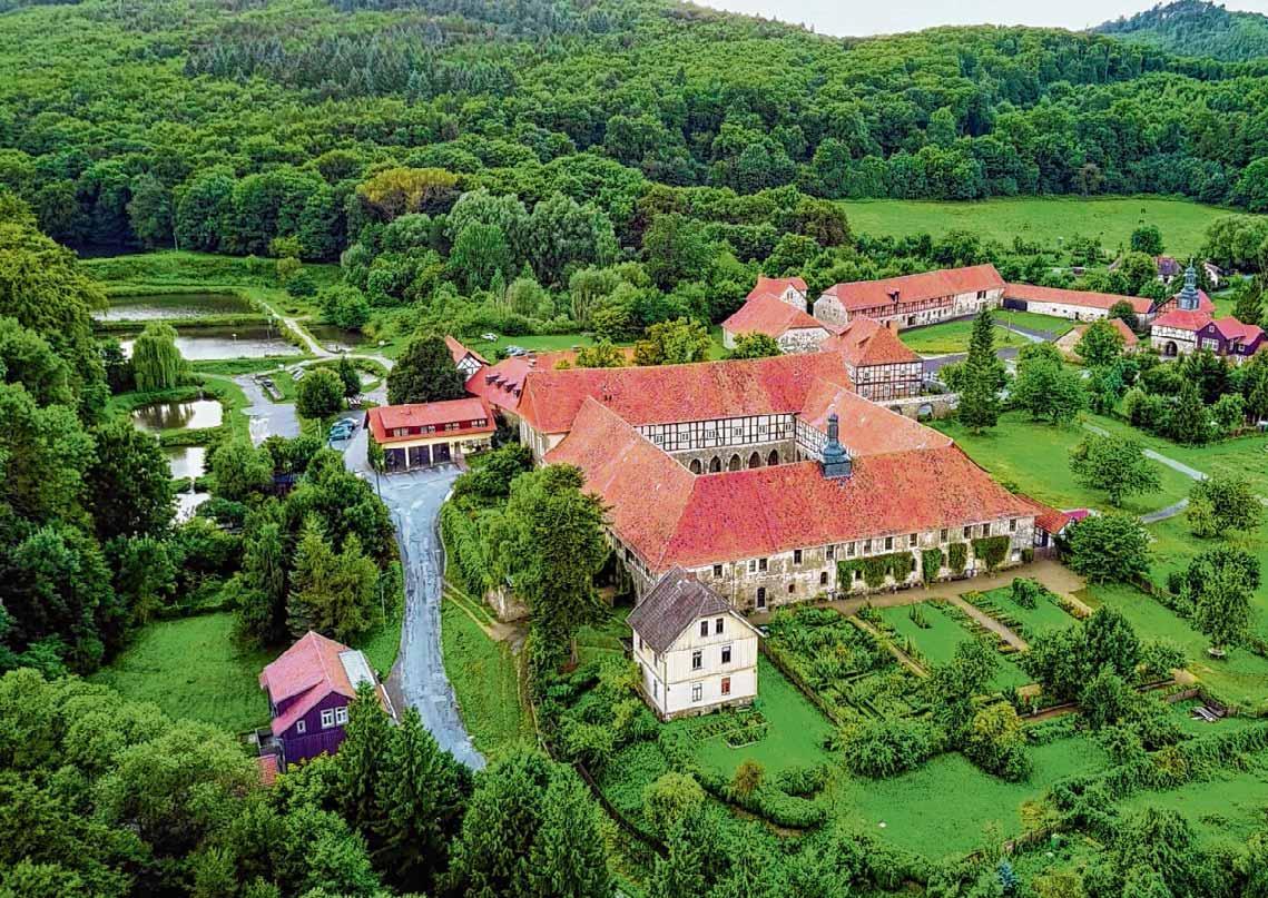 Heute ein Ort des Wissens und der Kunst: das Kloster Michaelstein. Foto: VS Archiv/ Kulturstiftung Sachsen-Anhalt