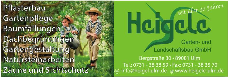 Heigele Garten und Landschaftsbau GmbH