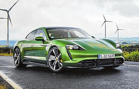52 Porsche Taycan