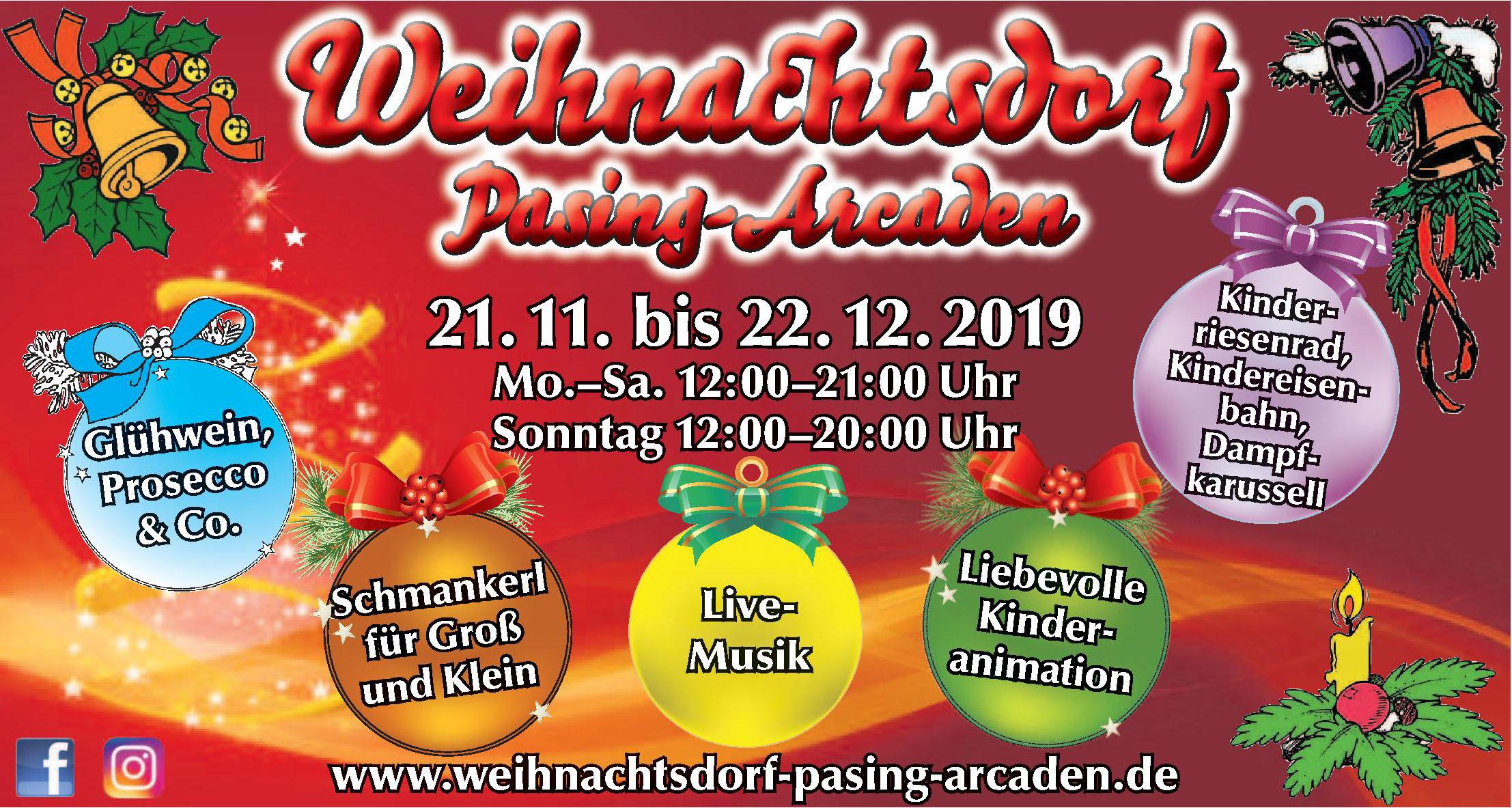 Weihnachtsdorf Pasing-Arcaden