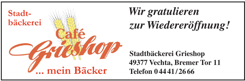 Stadtbäckerei Grieshop