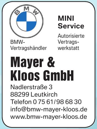 Mayer & Kloos GmbH