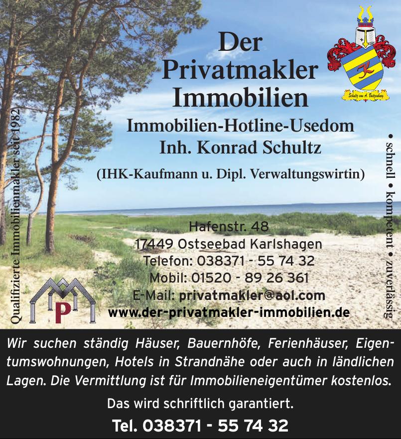 Immobilien-Hotline-Usedom Inh. Konrad Schultz