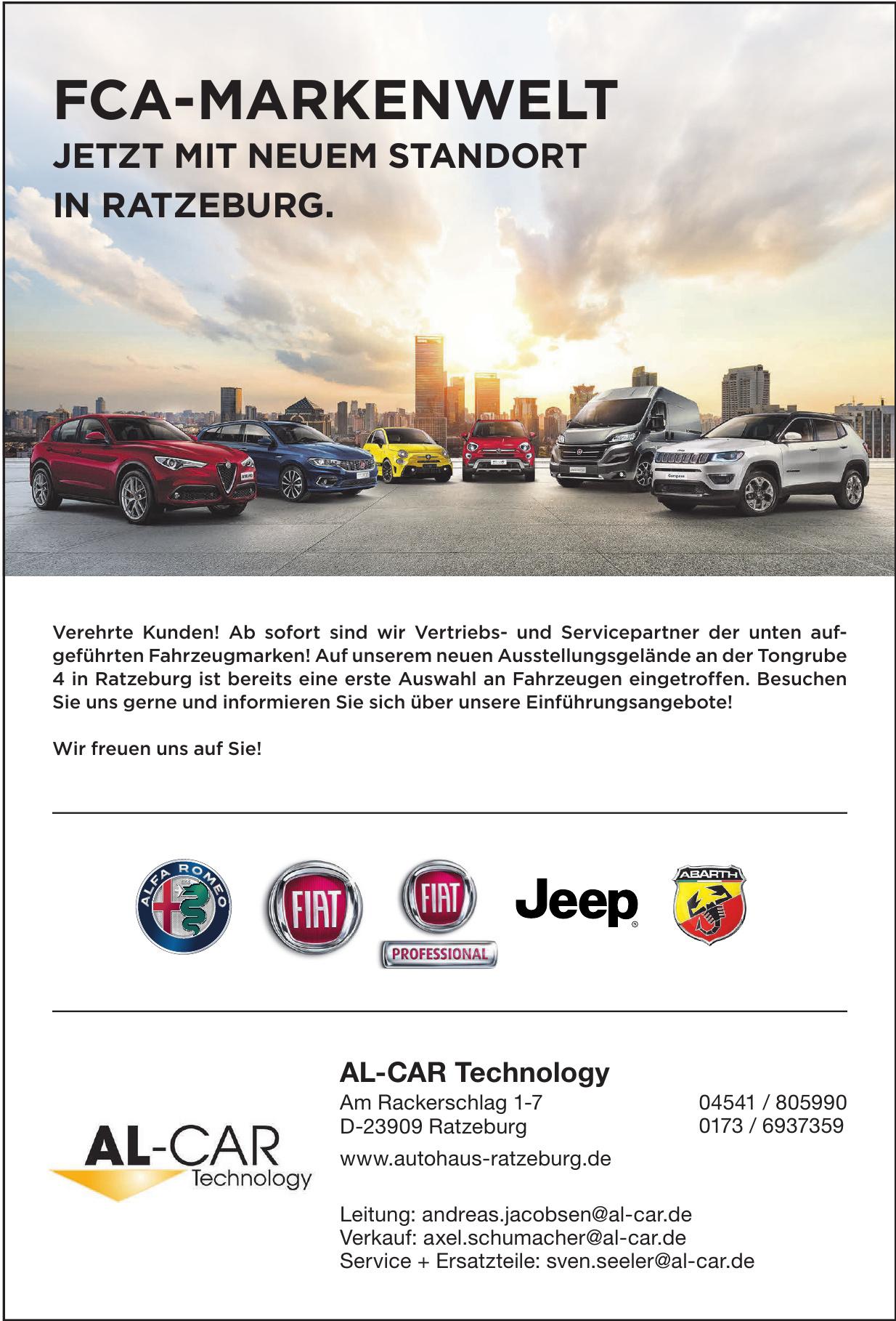 AL-CAR Technology
