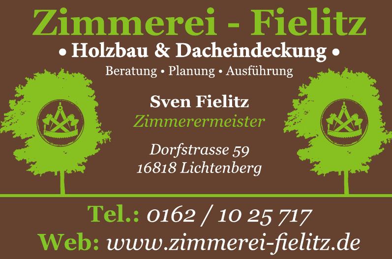 Zimmerei - Fielitz Holzbau & Dacheindeckung