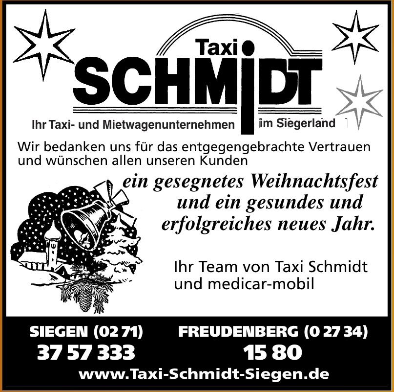 Taxi Schmidt