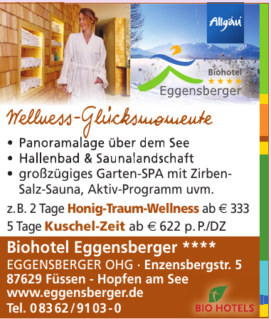 Biohotel Eggensberger Eggensberger OHG