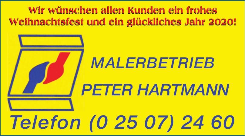 Malerbetrieb Peter Hartmann