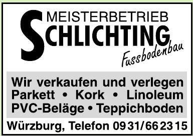 Meisterbetrieb Schlichting Fussbodenbau