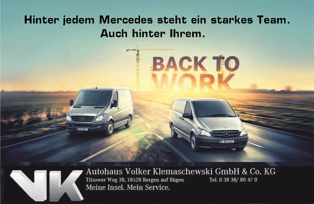 Autohaus Volker Klemaschewski GmbH & Co. KG