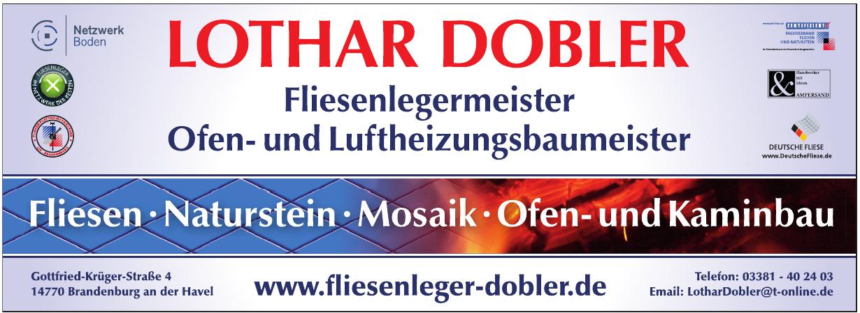 Lothar Dobler Fliesenlegermeister