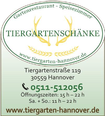 Tiergartenschänke Hannover