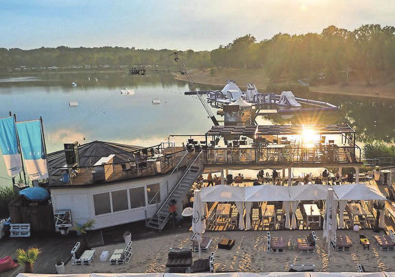 Am Blauen See Garbsen erleben Sie südländisches Flair, Spaß und Spiel.